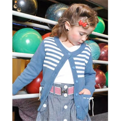 Kids Nancy Cardigan in the group Kids / 2 – 8 years at Sivletto (w6970)