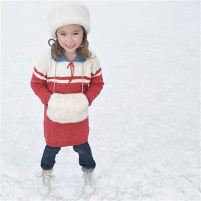Kids Paula knitted dress in the group Kids / 2 – 8 years at Sivletto (w6973)