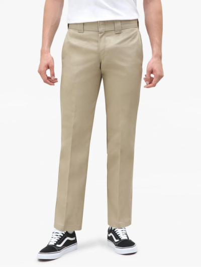 Dickies 873 Slim Straight Work Pant Khaki Sivletto