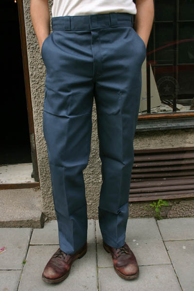 Dickies 874 Work Pant Air Force Blue in the group Men / Mens Pants at Sivletto (w7035)