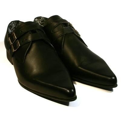 Underground Howard Black Leather in the group Clearance / Men / Shoes at Sivletto (w7134)