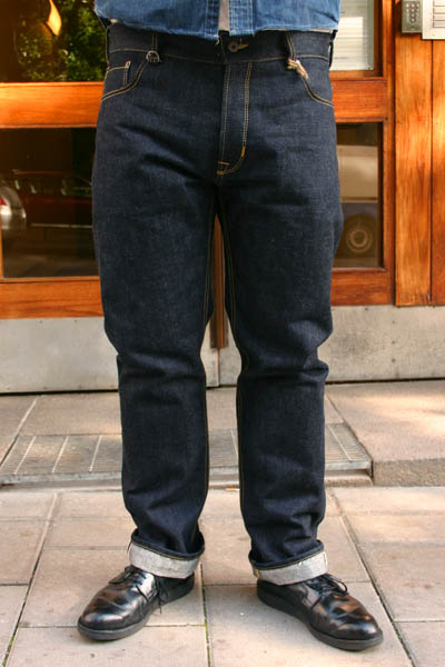Pike Brothers 1958 Roamer pant 23oz in the group Denim / Jeans at Sivletto (w7195)