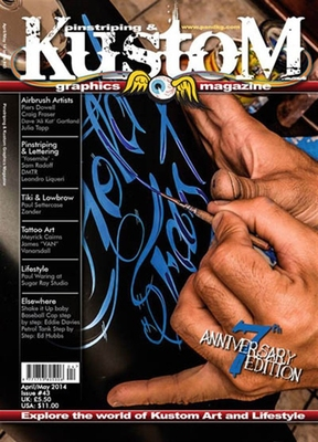 Pinstriping & Kustom issue 43 in the group Magazines / Vehicles at Sivletto (w7308-43)