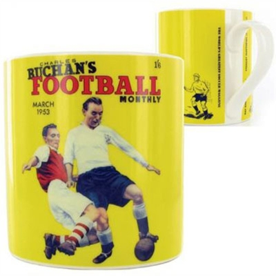 Wild & Wolf Football Monthly Mug Yellow in the group Home and stuff / Kitchen & edibles at Sivletto (w7386)