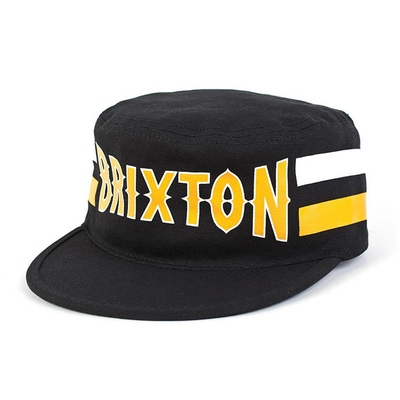 Brixton Grit black cap in the group Clearance / Men / Headwear at Sivletto (w7479)