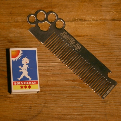 Rumble59 Comb Knuckle Duster in the group Hair and skincare / Combs at Sivletto (w7502)