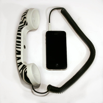 POP Phone Handset Zebra in the group Home and stuff / Electrical at Sivletto (w7512)