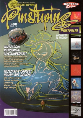 Wizzzards Pinstriping Portfolio in the group Misc / Magazines / Lifestyle at Sivletto (w7637)
