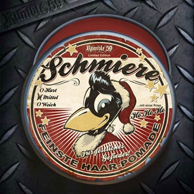 Schmiere - Special Edition X-Mas- Mittel in the group Hair and skincare / Pomade / Oil based pomade at Sivletto - Skylark AB (w7645)