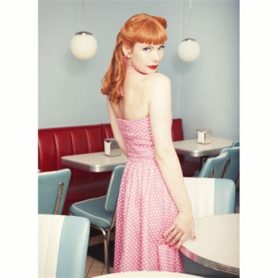 Jumperfabriken Lindy Pink Dress in the group Clearance / Women / Dresses at Sivletto (w7799)