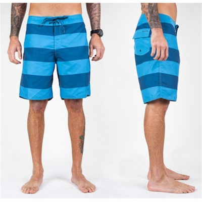 Brixton Plank blue trunks in the group Men / Beach  at Sivletto (w7887)