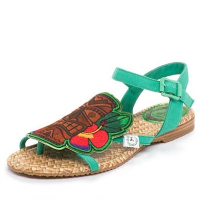 Miss L Fire KonTiki Trim Sandal in the group Clearance / Women / Women Shoes at Sivletto (w7889)