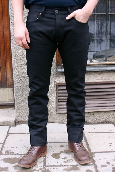 Indigofera Ray Gunpowder Black Selvage in the group Unionville / Jeans at Sivletto (w7941)