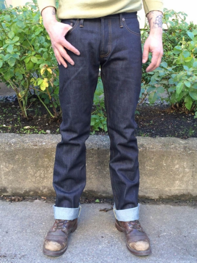 Tellason John Graham Mellor SL/S 16,5 OZ in the group Clearance / Men / Pants at Sivletto (w8047)