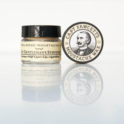 Captain Fawcett's Moustache Wax Sandalwood Moustache Wax in the group Hair and skincare / Mustache and beard / Mustache Wax at Sivletto - Skylark AB (w8173)