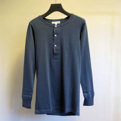 Merz b. Schwanen 206 Marine 1/1-Sleeve Shirt in the group Men / Sweaters at Sivletto - Skylark AB (w8306)