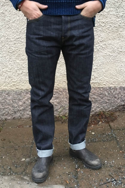 Edwin Ed 80 Slim Red Selvage Sivletto
