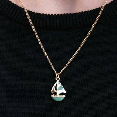 Sailboat Necklace in the group Women / Jewelry at Sivletto (w8478)