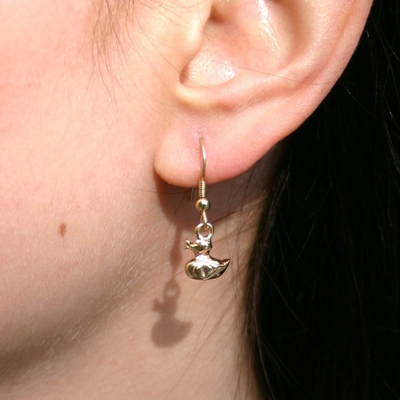 Duck Drop Earring in the group Women / Jewelry at Sivletto (w8481)