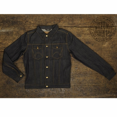 Nezumi Denim Co Joe Regular Denim Jacket in the group Clearance / Men / Jackets at Sivletto (w8485)