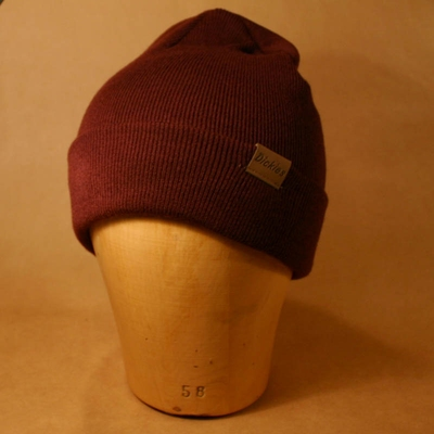 Dickies Alaska Maroon Beanie in the group Men / Hats, caps, beanies at Sivletto (w8579)