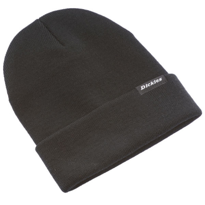 Dickies Alaska Black Beanie in the group Men / Headwear at Sivletto - Skylark AB (w8580)