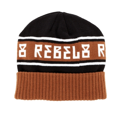 Rebel8 Alpine beanie rust, one size in the group Men / Headwear / Beanies at Sivletto (w8593)
