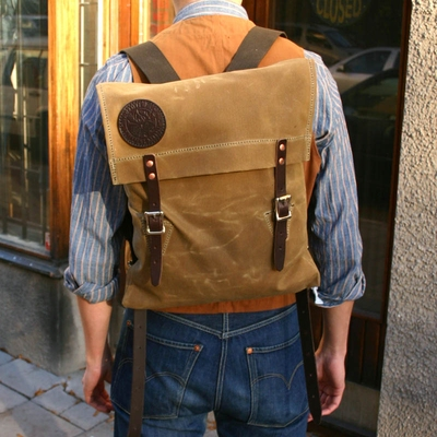 Duluth Pack Scout Pack Waxed Canvas in the group Unionville / Accessories at Sivletto (w8680)