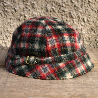 Vintage Childrens Hat Checked in the group Vintage / Kids at Sivletto (w8693)