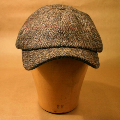 Sigvard Harris Tweed dark grey cap in the group Clearance / Men / Headwear at Sivletto (w8713)