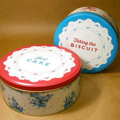 Set of 2 Cake Tins in the group Home and stuff / Storage at Sivletto - Skylark AB (w8899)