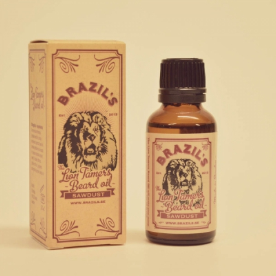 Brazil's The Lion Tamers Beard Oil Sawdust in the group Hair and skincare / Mustache and beard / Beard oil at Sivletto - Skylark AB (w8944)