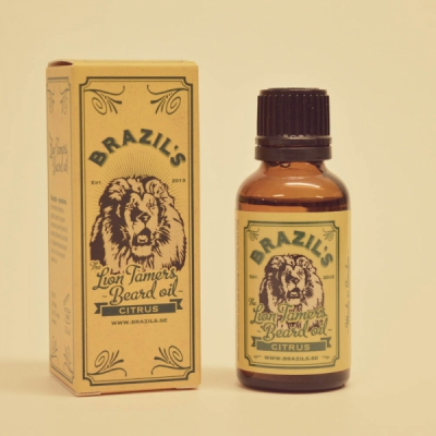 Brazil's The Lion Tamers Beard Oil Citrus in the group Hair and skincare / Mustache and beard / Beard oil at Sivletto - Skylark AB (w8947)