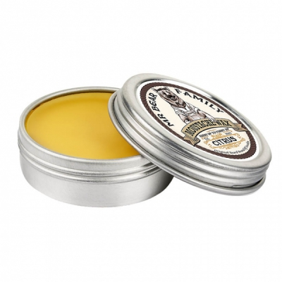 Mr Bear Family Moustache Wax Citrus in the group Hair and skincare / Mustache and beard / Mustache Wax at Sivletto - Skylark AB (w8994)