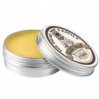 Mr Bear Family Beard Balm Citrus in the group Hair and skincare / Mustache and beard at Sivletto - Skylark AB (w8998)