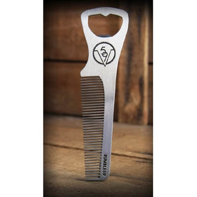 Rumble59 Comb Bottle Opener in the group Hair and skincare / Combs at Sivletto - Skylark AB (w9011)