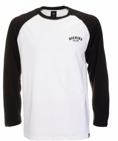 Dickies Baseball Black in the group Men / T-shirts at Sivletto - Skylark AB (w9016)
