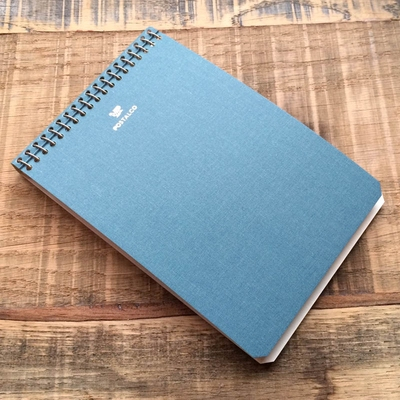 Postalco Light Blue Notebook A6 Pingraph in the group Unionville / Accessories at Sivletto (w9078)