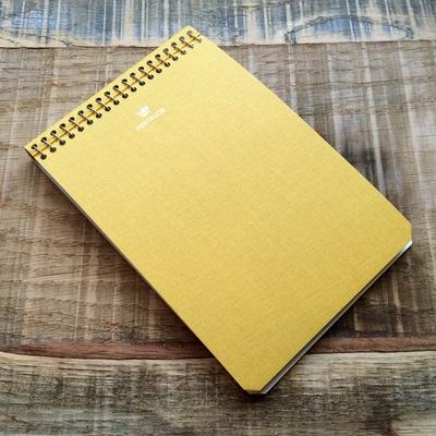 Postalco School Bus Yellow Notebook A6 Pingraph in the group Unionville / Accessories at Sivletto (w9080)