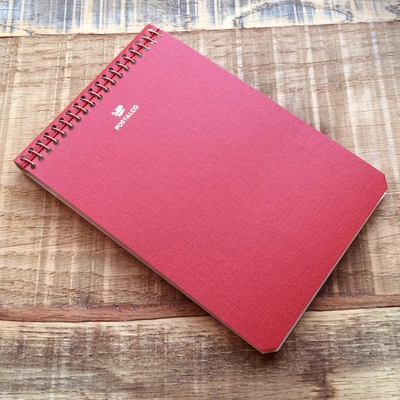 Postalco Signal Red Notebook A6 Pingraph in the group Unionville / Accessories at Sivletto (w9081)