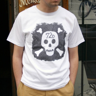 DePalma Sid tee white in the group Clearance / Men / T-shirts at Sivletto - Skylark AB (w9122)