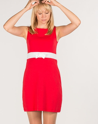 Jumperfabriken Michelle Red Dress in the group Clearance / Women / Dresses at Sivletto (w9140)