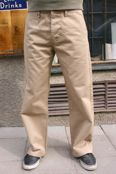Pike Brothers 1932 Engineer Pant Khaki in the group Men / Mens Pants at Sivletto (w9195)