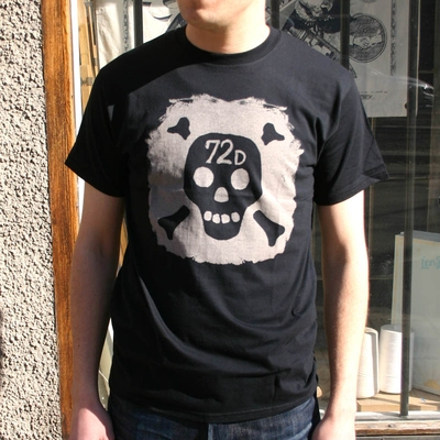 DePalma Sid Tee Black in the group Clearance / Men / T-shirts at Sivletto (w9256)