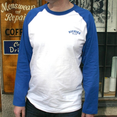 Dickies Baseball Royal Blue in the group Men / T-shirts at Sivletto (w9271)