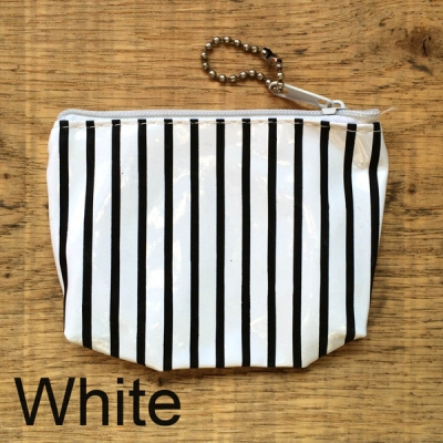 Striped Plastic purse in the group Clearance / Women / Misc at Sivletto - Skylark AB (w9286)