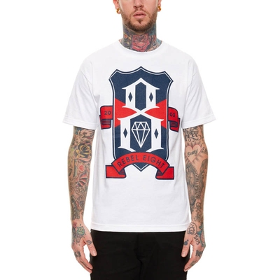 Rebel8 R8FC White Tee in the group Clearance / Men / T-shirts at Sivletto (w9304)