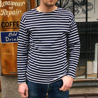 Armor-Lux Loctudy shirt navy in the group Clearance / Men / Sweaters at Sivletto (w9327)