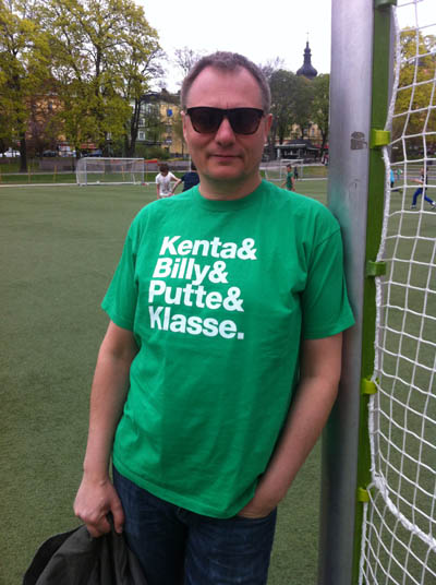 Hammarby 82 t-shirt in the group Men / T-shirts at Sivletto (w9390)