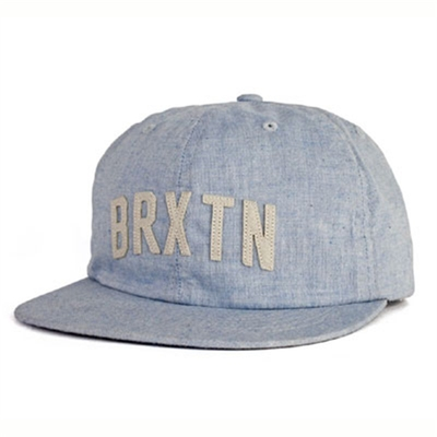 Brixton Hamilton cap denim in the group Men / Headwear / Trucker/baseball caps at Sivletto (w9450)